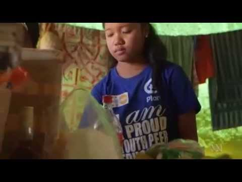 ABC News: Six months after Typhoon Haiyan with Plan International Australia