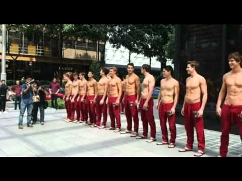 Abercrombie & Fitch guys hit town