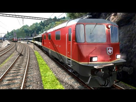 LET´S PLAY Train Simulator 2013 Folge 58 | SBB Route 1 | Regionalzug am Walensee Rob spielt