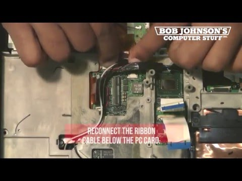 How to Replace the LAN Modem Port in a Panasonic Toughbook CF-30