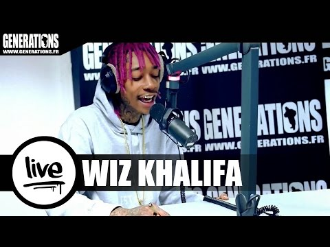 Wiz Khalifa - Stayin Out All Night (Live des studios de Generations)