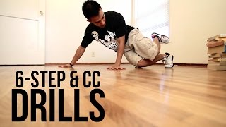 How to Breakdance I 6 Step & CC Drills I Footwork 101