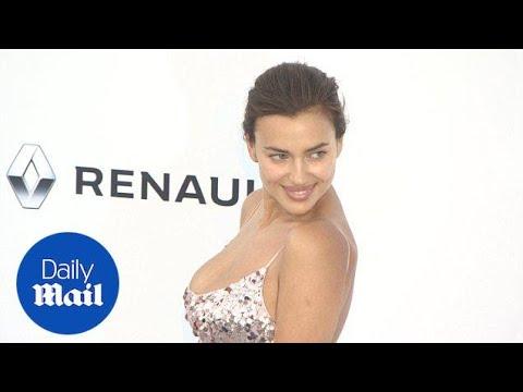 Irina Shayk shows off ample cleavage as she arrives at  amfAR Gala - Daily Mail thumbnail
