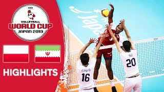 POLAND vs. IRAN - Highlights | Men's Volleyball World Cup 2019