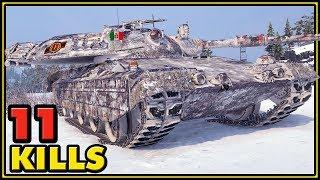 Progetto M40 mod. 65 - 11 Kills - World of Tanks Gameplay