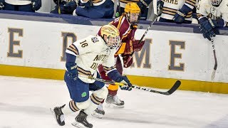 Gopher Men's Hockey Sweeps #9 Notre Dame in South Bend