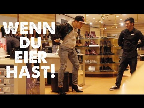 WENN DU EIER HAST! #7 | FRAUEN SCHUHE ANZIEHEN !!