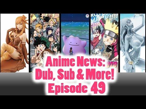 #AnimeNews - Boruto, My Hero Academia, Panty & Stocking - Sub, Dub & More: Episode 49 #Anime