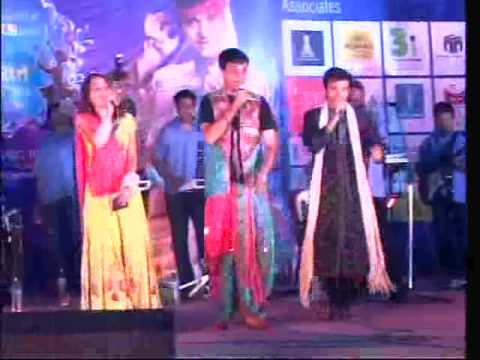 Royal Garba-2009 Devang Patel with Jai Ambe
