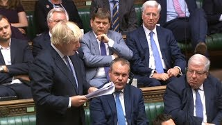 Theresa May faces Jeremy Corbyn at PMQs – watch live