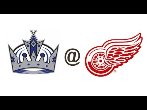 [H] Pavel Datsyuk against Los Angeles Kings 10/2/2013