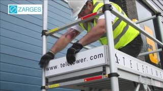 Zarges Telescopic Mobile Scaffold Tower