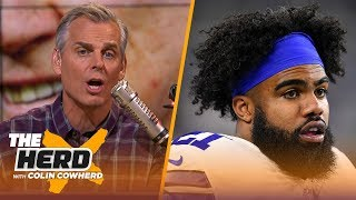 Cowboys can start 4-1 without Zeke, says Texans need to protect Deshaun — Colin | NFL | THE HERD