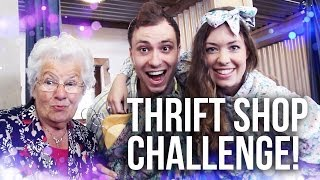 THRIFT SHOP CHALLENGE met Oma Miep!
