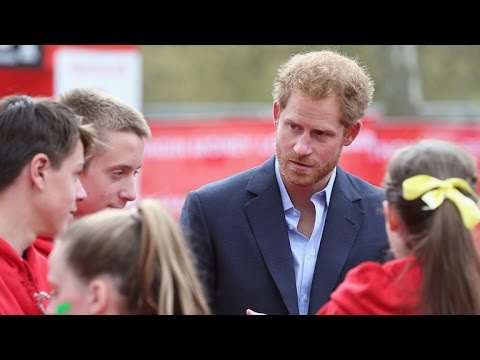 Watch a 9-Year-Old Awkwardly Ask Prince Harry If He'll Ever Be King