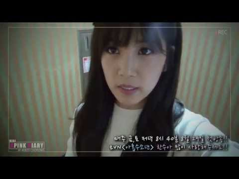 140828 Apink Mini Diary Chorong '아홉수소년' 제작발표회 (presscon Interview) video