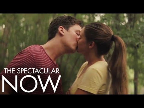 The Spectacular Now   First Kiss   Official Movie Clip HD   A24