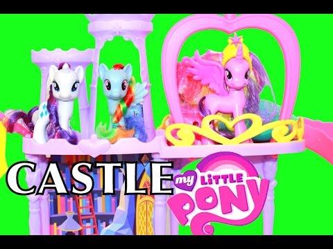 AllToyCollector Princess Twilight Sparkle My Little Pony MLP Rainbow Kingdom Castle Rainbow Dash