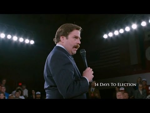Marty Huggins wins a crucial debate just 14 days before the election and goes up in the poles.