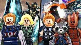LEGO Avengers: Infinity War - Outrider Dropship Attack & Thor's Weapon Quest - Review