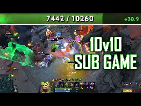 10v10 Sub Game #2 - SingSing Dota 2 Highlights