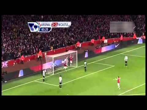 Arsenal vs Newcastle United 7 - 3 goals highlights