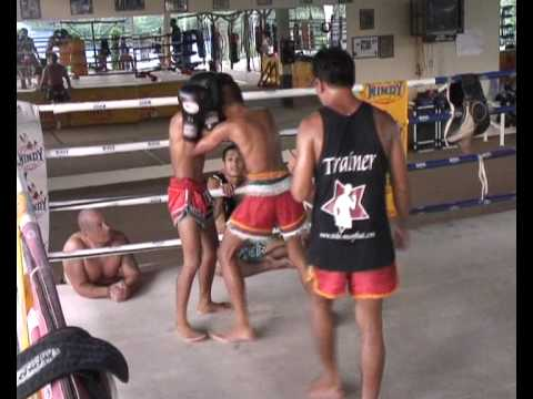 Traditional Muay Thai Training Session At Sinbi Muay Thai Phuket