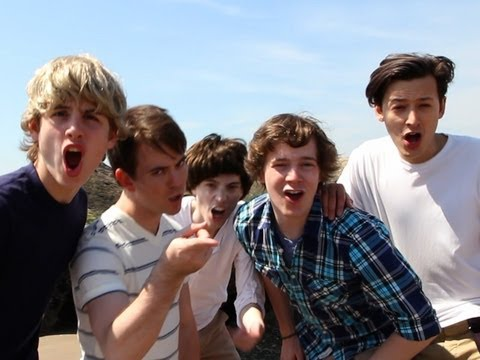 What Makes You Beautiful - One Direction Parody! Key of Awesome...