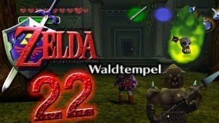 Let's Play The Legend of Zelda Ocarina of Time Part 22: Der Waldtempel