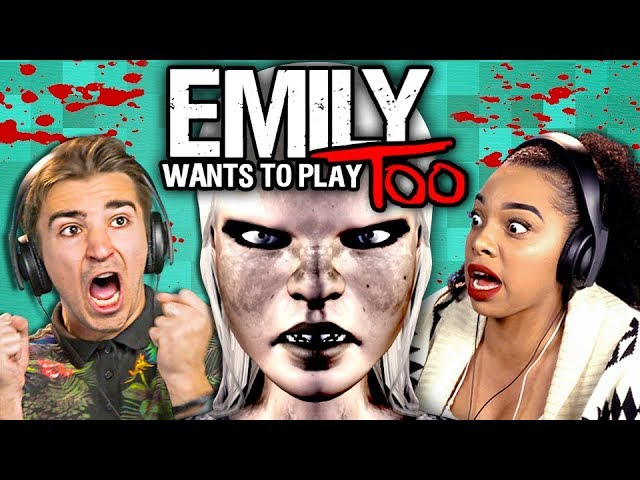 DEMON CHILD HORROR! | Emily Wants To Play 2 (React: Gaming)