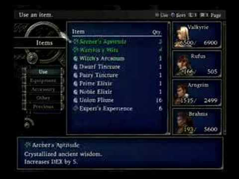 Valkyrie Profile 2: Silmeria Speed Run Final Boss