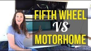 Fifth Wheel vs Motorhome: Which is better?