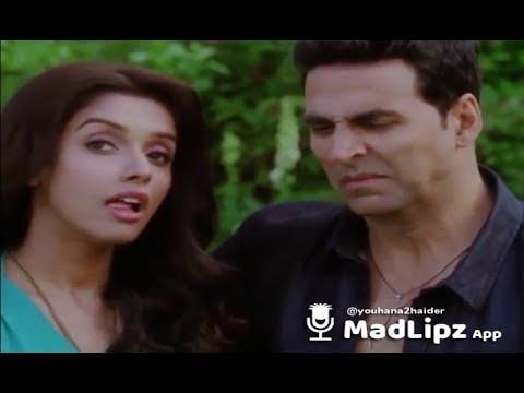Akshay kumar reaction on fart    hindi    MadLipz app