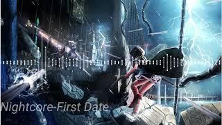 [Nightcore]-First Date (Blink 182).
