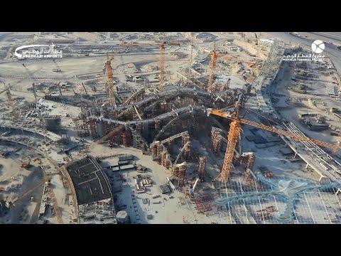 Watch November's roundup of fantastic project progress at Abu Dhabi International Airport