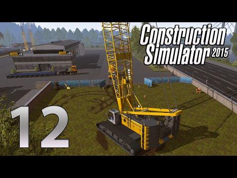 Construction Simulator 2015 Gold Edition| Episode 12| Big Biiiig Crane