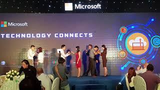 Mc Trí Thuận Event Gala Night Microsoft Vn. Game Show.