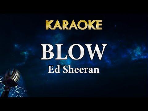 Ed Sheeran - BLOW Ft. Chris Stapleton & Bruno Mars (Karaoke Instrumental)
