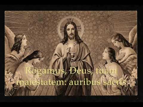 Gregorian Chant - Attende Domine
