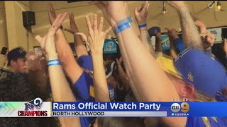 Rams Fans Erupt When Team Stuns Saints With Come-From-Behind Win