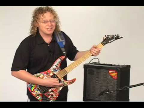 Johnny DeMarco Shows the Roland Cube 60 Amp