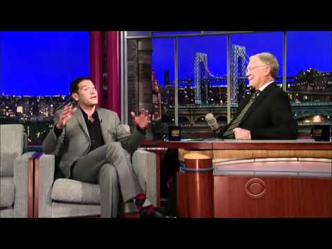 Jon Bernthal on Letterman 3/12/12