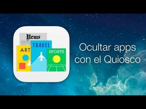 iOS 7 Beta 2 - Cómo ocultar apps con el Quiosco (sin Jailbreak) — Sólo iPhone / iPod touch