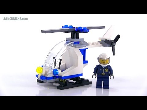 LEGO City 30226 Police Helicopter polybag set reviewed!