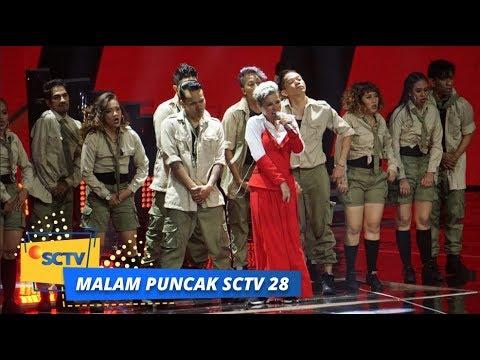 Agnez Mo - Godai Aku Lagi dan Million $ Lovers   Malam Puncak SCTV 28