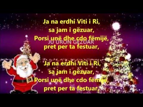 Ja na erdhi Viti i Ri Kenge per femije me tekst ne shqip
