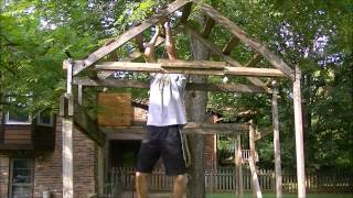how to set up an obstacle course in your backyard