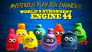MYSTERIOUS PLAY-DOH ENGINES ! Thomas and Friends 44 World's Strongest Engine Trackmaster STOP MOTION