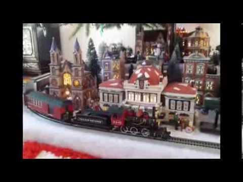 Getchey 2013 Dept 56 Christmas  Tree Layout Slideshow MP4