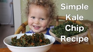 Sweet, Savory, & Simple Homemade Kale Chip Recipe